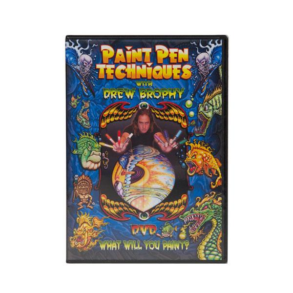 Paint Pen Techniques DVD with Drew Brophy