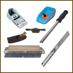 Surfboard Shaping Hand Tools
