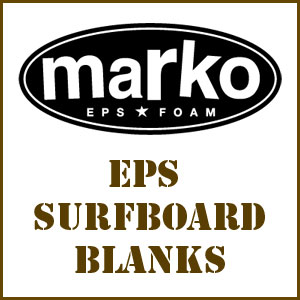 Marko Molded EPS Surfboard Blanks