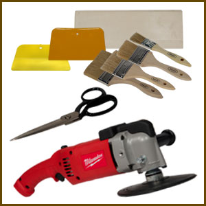 Surfboard Glassing Tools & Supplies