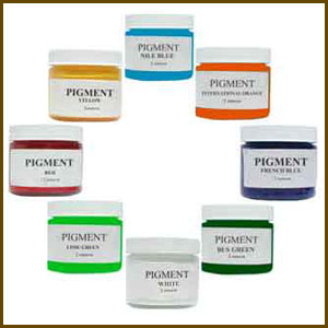 Surfboard Pigments & Tints
