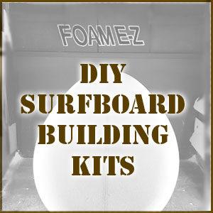 DIY SURFBOARD BUILDING KITS